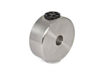 "6kg V2A Stainless Steel Counterweight for 10Micron GM 1000 stainless steel with 1/4"" photo thread"